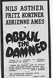 Abdul the Damned Poster