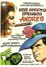 Una señora llamada Andrés Poster
