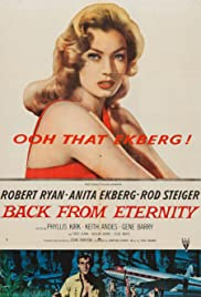 Back from Eternity (1956) Poster - Movie Forum, Cast, Reviews