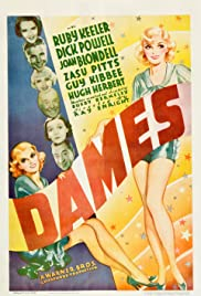 Dames (1934) Poster - Movie Forum, Cast, Reviews