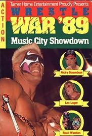 WCW/NWA WrestleWar Poster