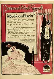 A Bedroom Blunder Poster
