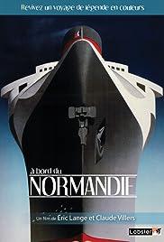 A bord du Normandie Poster