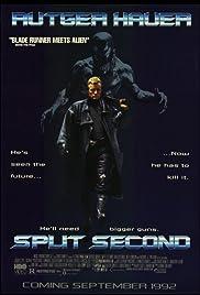 Split Second(1992) Poster - Movie Forum, Cast, Reviews
