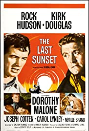 The Last Sunset (1961) Poster - Movie Forum, Cast, Reviews