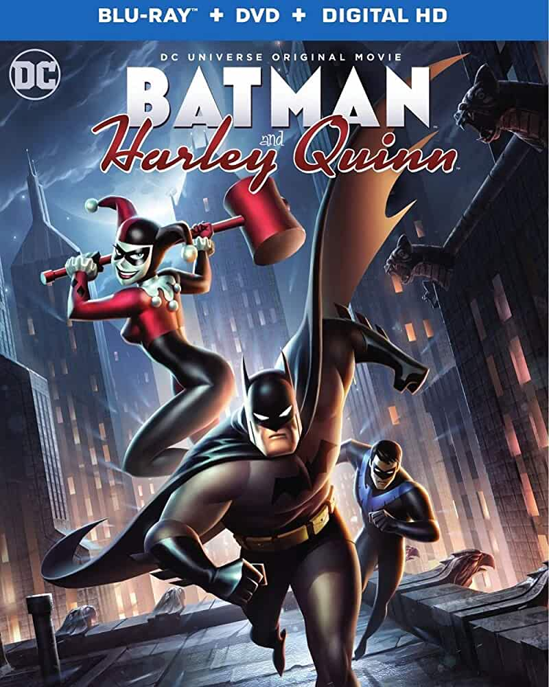 Batman and Harley Quinn 2017 English Full Movie WEB-DL 200MB 480p