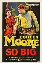 So Big (1924) Poster