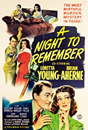 A Night to Remember (1942) Poster - Movie Forum, Cast, Reviews