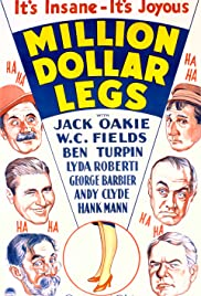 Million Dollar Legs (1932) Poster - Movie Forum, Cast, Reviews