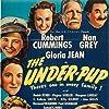 Beulah Bondi, Robert Cummings, Ann Gillis, Nan Grey, Gloria Jean, Margaret Lindsay, C. Aubrey Smith, and Virginia Weidler in The Under-Pup (1939)