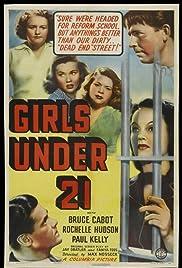 Girls Under 21 Poster