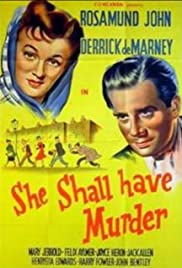 She Shall Have Murder Poster