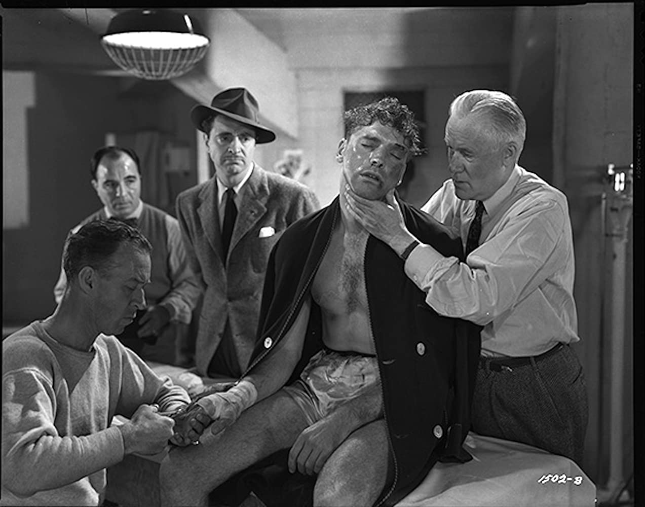 Burt Lancaster and Sam Levene in The Killers (1946)