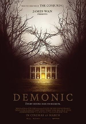 Poster Demonic - Haus des Horrors