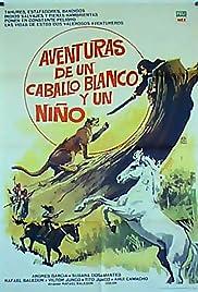 Aventuras de un caballo blanco y un niño Poster