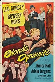 Blonde Dynamite(1950) Poster - Movie Forum, Cast, Reviews