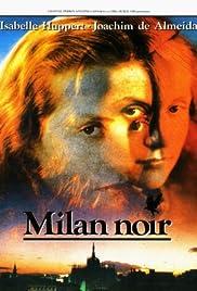 Milan noir Poster