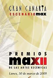 XII premios Max de las artes escénicas Poster
