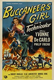 Buccaneer's Girl (1950) Poster - Movie Forum, Cast, Reviews