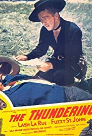 The Thundering Trail Poster