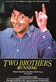 Two Brothers Running Poster