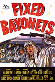 Fixed Bayonets! (1951) Poster - Movie Forum, Cast, Reviews