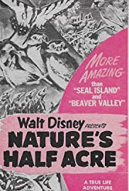 Nature's Half Acre Poster