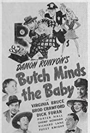 Butch Minds the Baby Poster