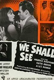 We Shall See Poster