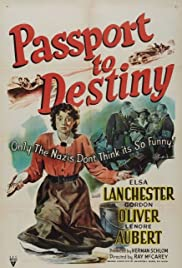 Passport to Destiny Poster