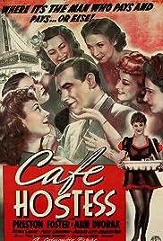 Cafe Hostess Poster