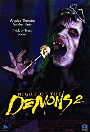 Night of the Demons 2 (1994) Poster - Movie Forum, Cast, Reviews