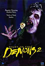 Night of the Demons 2 (1994) UNRATED BRRip 480p 300MB Dual Audio ( Hindi – English ) MKV