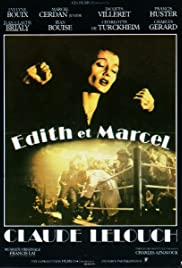Edith and Marcel (1983) Poster - Movie Forum, Cast, Reviews