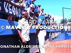 Jonathan Aldridge interviewing Chicago Cubs Ace Jake Arrieta