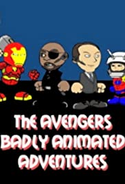 The Avengers Badly Animated Adventures Poster