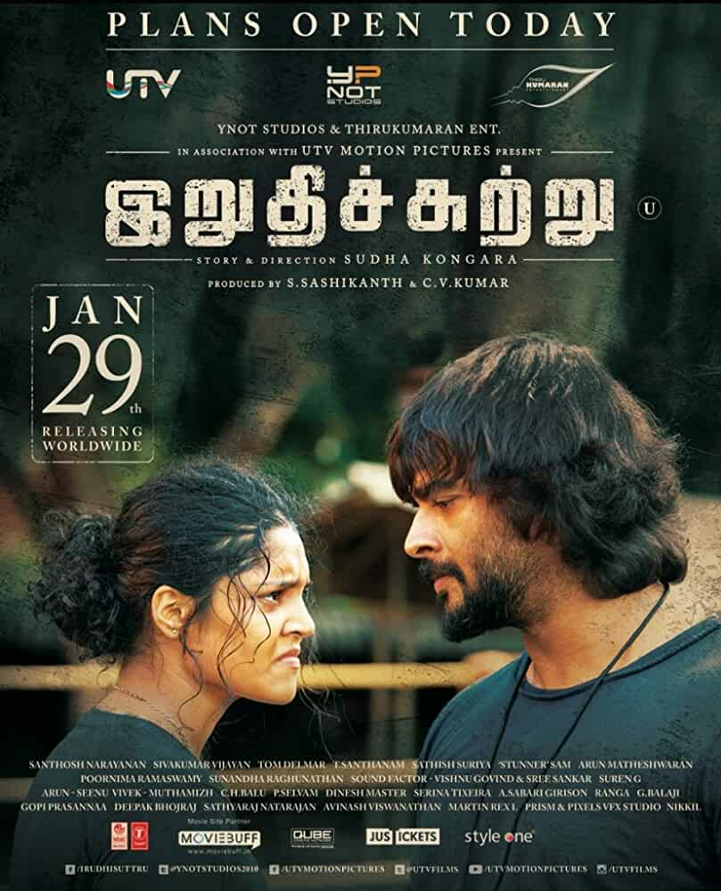 Irudhi Suttru Torrent 2016 Tamil HD Movie Download