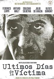 Últimos días de la víctima(1982) Poster - Movie Forum, Cast, Reviews