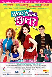 Who's That Girl? Poster