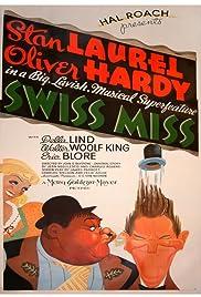 Swiss Miss(1938) Poster - Movie Forum, Cast, Reviews