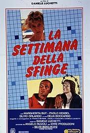 La settimana della sfinge Poster