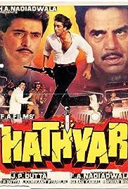 Hathyar(1989) Poster - Movie Forum, Cast, Reviews