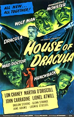 House of Dracula Pelicula Poster