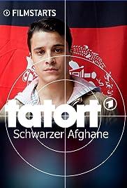 Schwarzer Afghane Poster