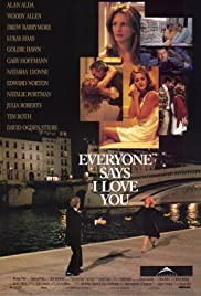 Everyone Says I Love You (1996) Poster - Movie Forum, Cast, Reviews