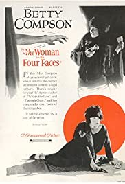 The Woman with Four Faces Poster