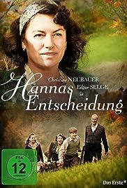 Hannas Entscheidung Poster