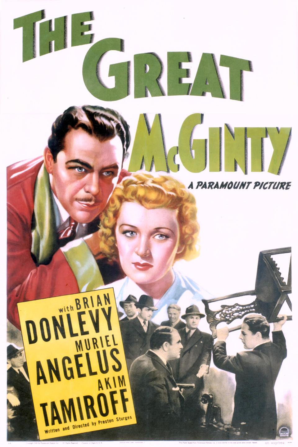 image The Great McGinty Watch Full Movie Free Online