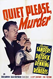 Quiet Please: Murder Poster