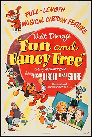 Fun & Fancy Free poster